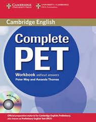 Complete PET  WB no ans +D