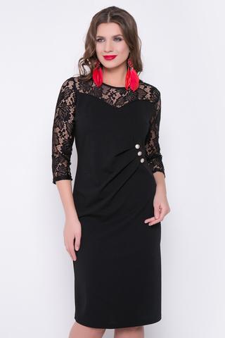 <p>Вау! Ваша сексуальность не имеет границ!&nbsp; Вы - бриллиант! Очень красивое платье, которое подойдет любому типу фигуры. Благодаря драпировке и ряду декоративных пуговиц образ становится более утонченный.&nbsp; (Длины: 46-50=101см; 52-54=102см)&nbsp;</p>