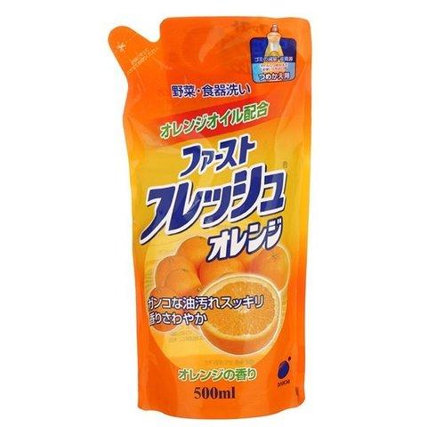 Жидкость для мытья посуды, овощей и фруктов Свежий апельсин Daiichi Funs, 500 мл