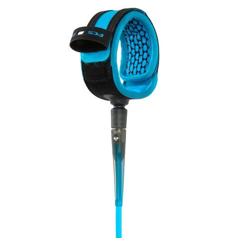 FCS 8' All Round Essential Leash Blue/Black