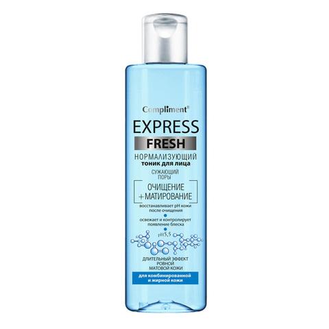 Compliment Express Fresh Нормализующий тоник для лица сужающий поры