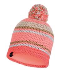 Вязаная шапка с флисовой подкладкой Buff Hat Knitted Polar Dorian Coral Pink