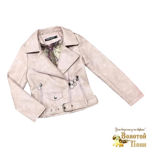 Куртка экокожа девочке (5-9) 200310-NA99