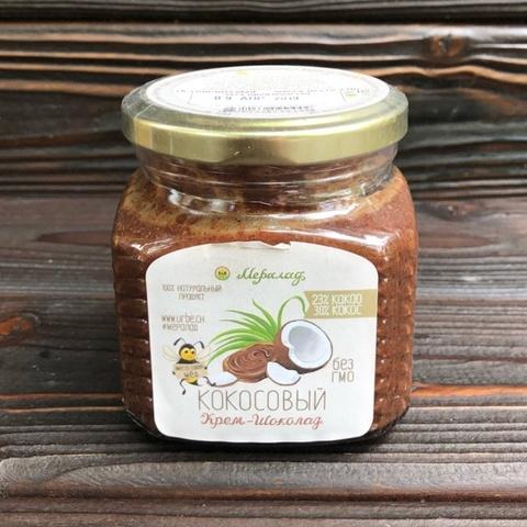 Фотография Урбеч крем-шоколад кокосовый, 230 г купить в магазине Афлора