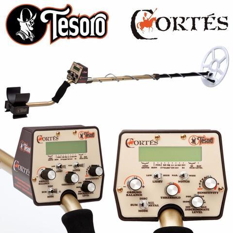 Металлоискатель Tesoro Cortes (катушка 9