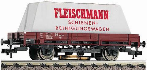 Fleischmann 5568 Платформа для чистки рельс, НО