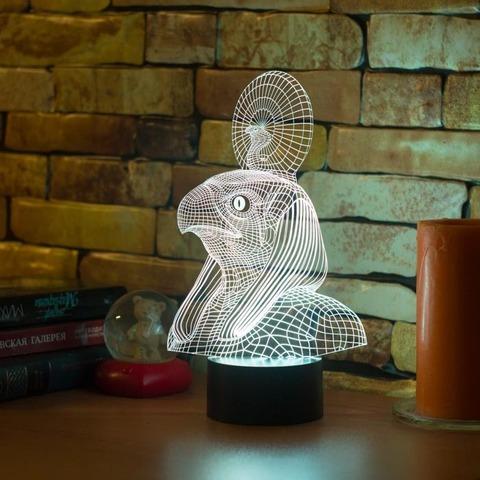 3D лампа Египетский Бог Ра