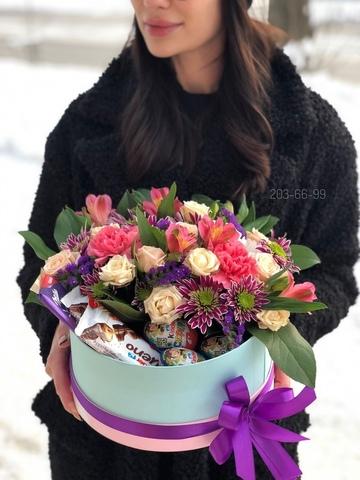 Цветы и сладости #16248