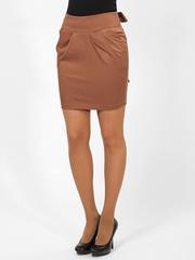 0556-4 юбка светло-коричневая