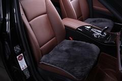 Подушка на сиденье из натурального меха (Овчина, короткий ворс, цельная шкура, Австралия)