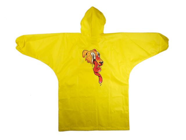 Желтый дождевик - пёс
