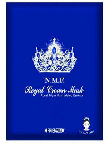 N.M.F. ROYAL CROWN MASK, Тканевая маска, восстанавливающая естественный барьер кожи