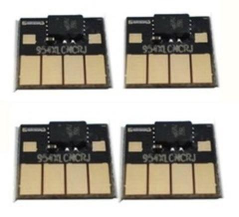 Комплект чипов HP 953 / 957. 4 чипа с автосбросом (для ПЗК и СНЧ)