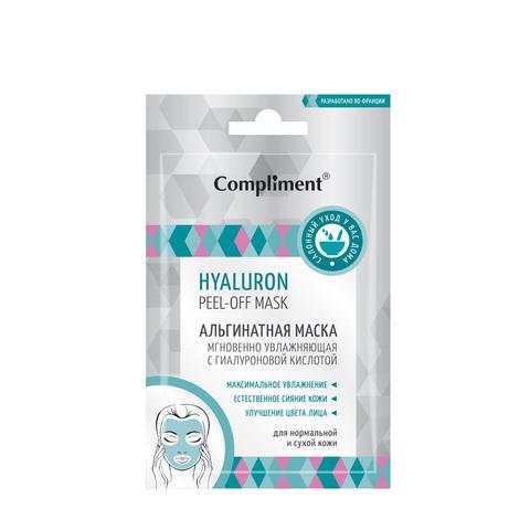 Compliment HYALURON peel-off mask Альгинатная маска Мгновенно увлажняющая с гиалуроновой кислотой