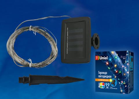 USL-S-128/PT9900 DEW Садовая гирлянда на солнечной батарее