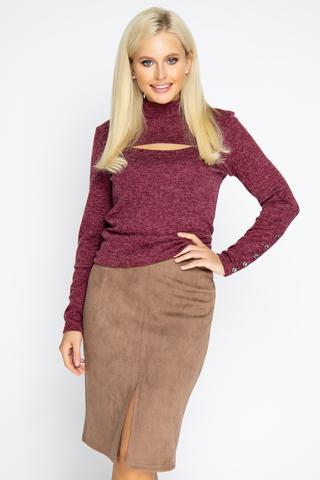 <p>Юбка - карандаш считается базовым предметом женского гардероба, который никогда не выйдет из моды. Эта&nbsp; модель отлично смотрится на всех типах фигуры. Пояс на подкройной обтачке, по спинке замок, спереди разрез. (Длины: 46-58см; 48-59см; 50-59см; 52-60см)&nbsp;</p>