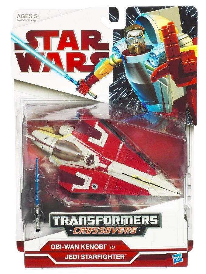 Star Wars Transformers - Obi-Wan Kenobi to Jedi Starfighter