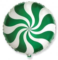 F Мини-круг, Леденец, Зеленый, 9''/23 см, 5 шт.