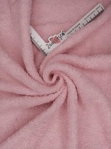 Махровое полотно Розовый