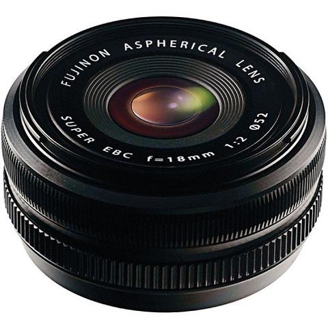 Объектив Fujinon XF 18mm f/2 R Black для Fujifilm X