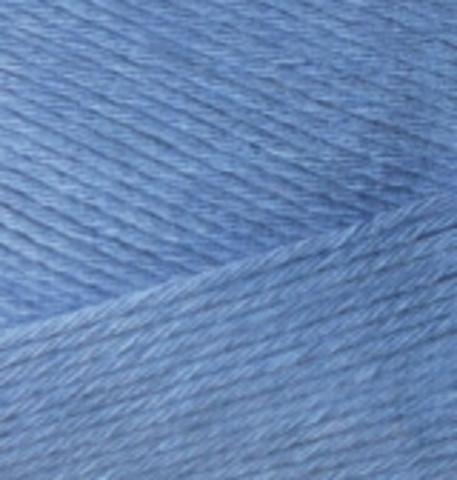 Пряжа Bamboo Fine Alize 303 ярко-синий, фото