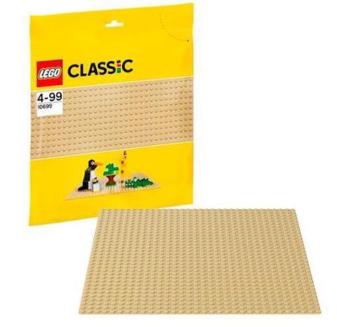 LEGO Classic: Строительная пластина желтого цвета 10699 — 32x32 Sand Baseplate — Лего Классик