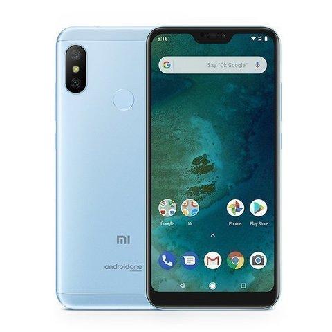 Смартфон Xiaomi Mi A2 Lite 4GB/64GB (Blue-Голубой)