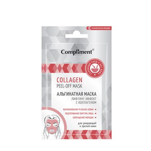 Compliment COLLAGEN peel-off mask Альгинатная маска лифтинг-эффект с коллагеном