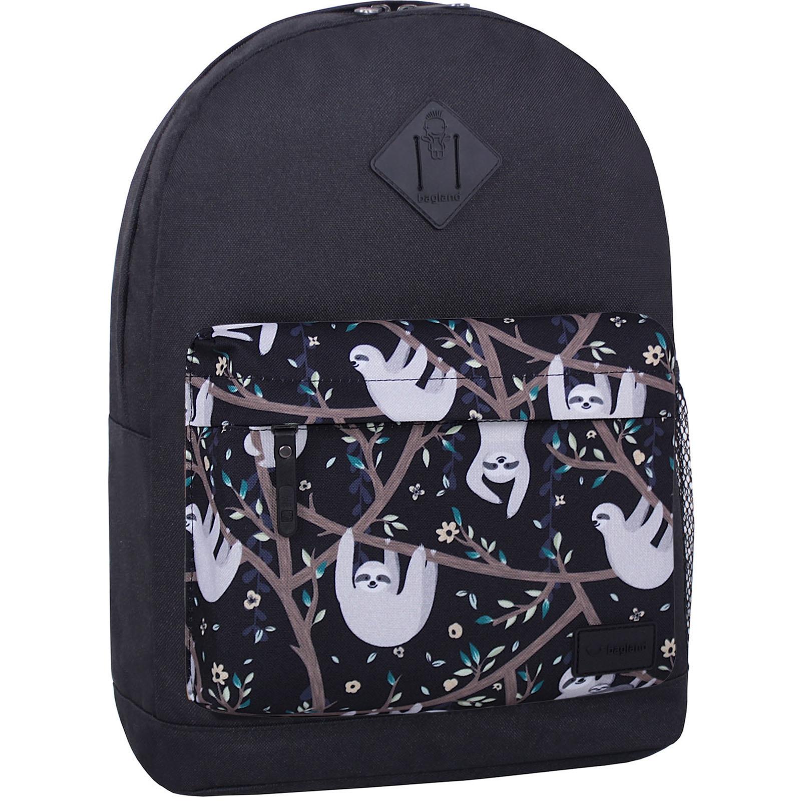 Городские рюкзаки Рюкзак Bagland Молодежный W/R 17 л. Черный 760 (00533662) IMG_6667_суб760_-1600.jpg
