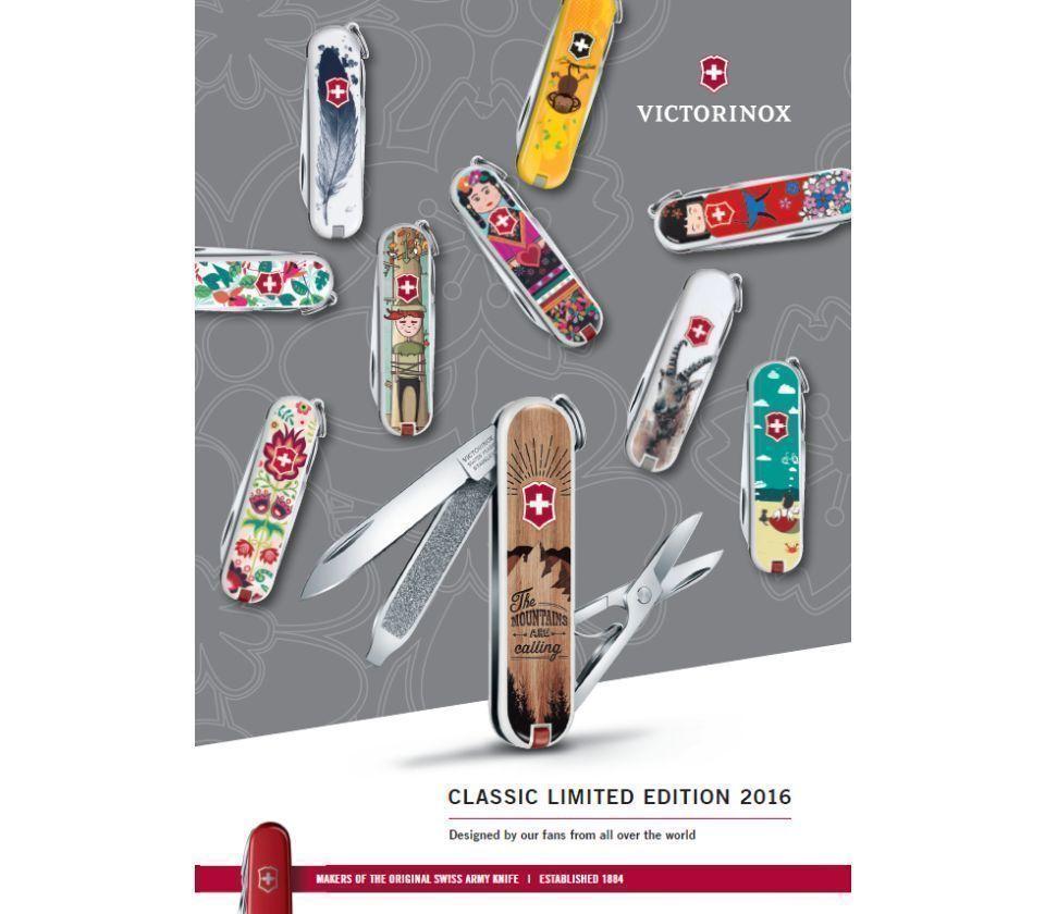 Коллекция ножей-брелков Victorinox Classic Limited Edition 2016   Wenger-Victorinox.Ru
