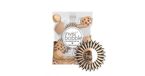 Ароматизированные резинки для волос invisibobble США печенье