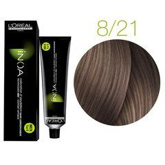 L'Oreal Professionnel INOA 8.21 (Светлый блондин перламутровый пепельный) - Краска для волос
