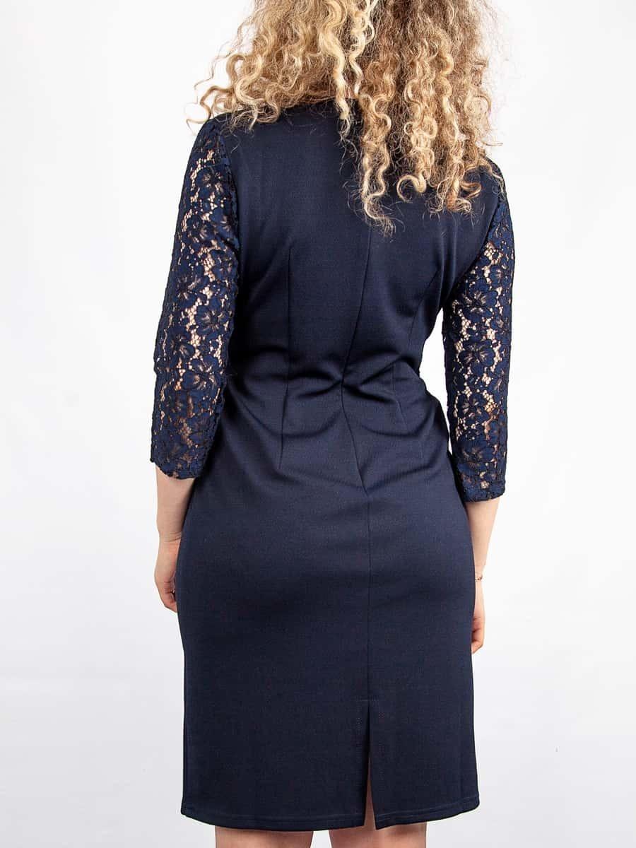 Платье Современная классика (сапфир)