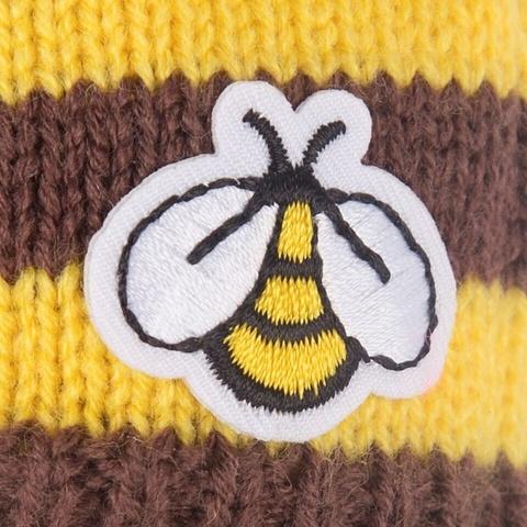 Зайка Ми в шапке-пчелка