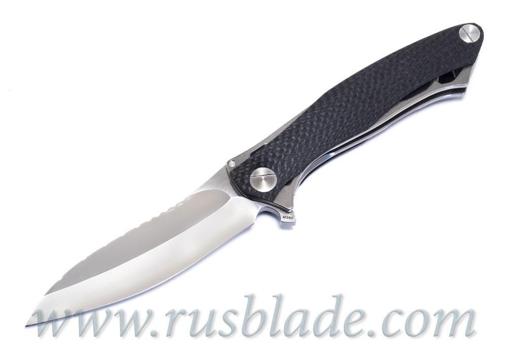 CKF Trekoza Carbon Fiber Customizing Knife Limited