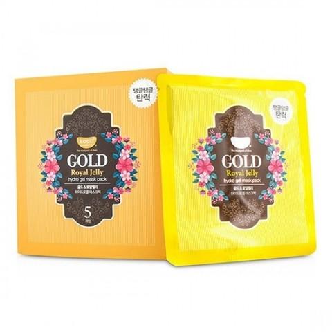 KOELF Маска для лица гидрогелевая с золотом и маточным молочком GOLD & ROYAL JELLY MASK, 30 гр