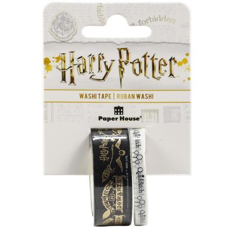 Набор скотчей- Washi Tape Harry Potter - Quidditch -2шт