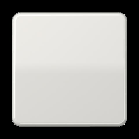 Выключатель одноклавишный проходного типа. 10 A / 250 B ~. Цвет Светло серый. JUNG CD. 506U+CD590LG