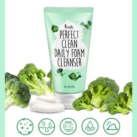 PRRETI Пенка для умывания Perfect Clean Daily Foam Cleanser, 150 гр