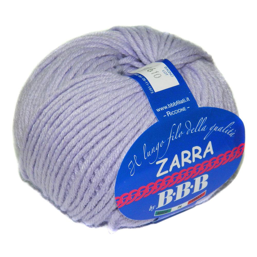 Пряжа BBB Filati Zarra 8268 светлая сирень