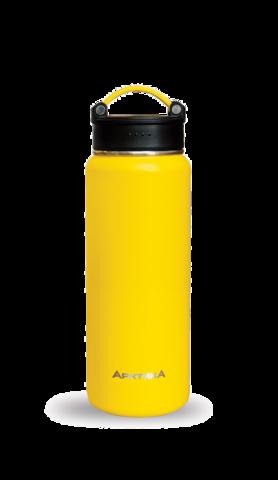 Термос Арктика (0,53 литра) с узким горлом, желтый