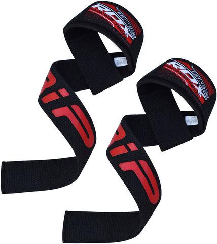 Ремень для турника RDX Pro Weight Lifting Gym Straps&