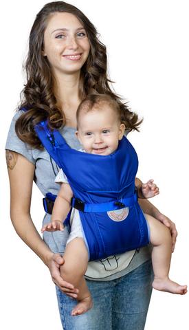 Чудо-Чадо. Рюкзак-кенгуру BabyActive Simple, синий вид 1