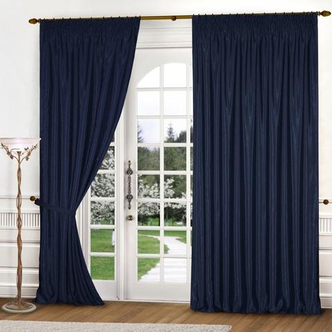 Комплект штор Лила синий