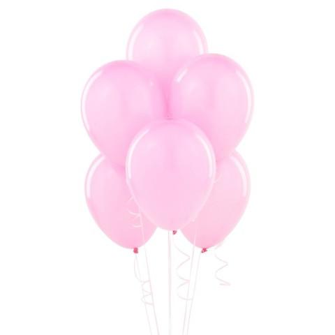 Воздушные шары с гелием розовые