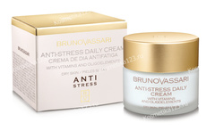 Легкий дневной крем для чувствительной кожи (Bruno Vassari | Anti-Stress | Daily Cream), 50 мл
