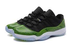 Air Jordan 11 Retro Low 'Green Snakeskin'