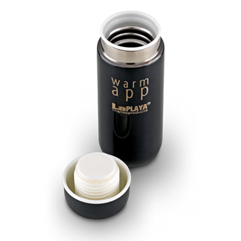Набор LaPlaya WarmApp термосы (0,2 литра), белый/черный