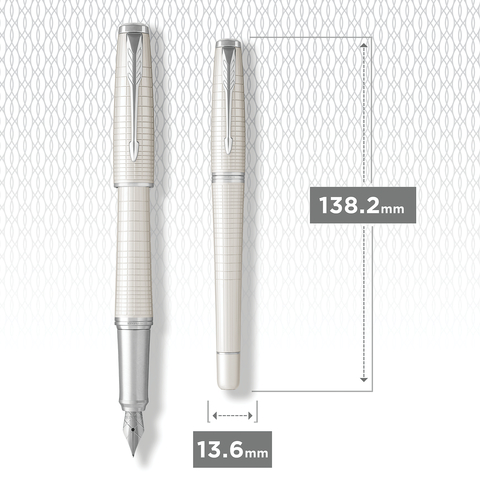 Перьевая ручка Parker Urban Premium Pearl Metal CT123