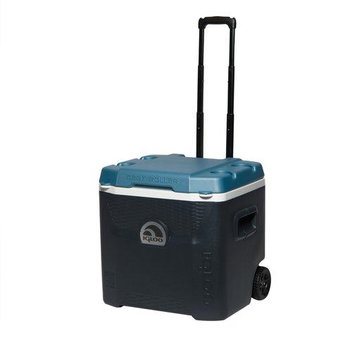 Изотермический контейнер (термобокс) Igloo Quantum 52 Roller (термоконтейнер, 48 л.)
